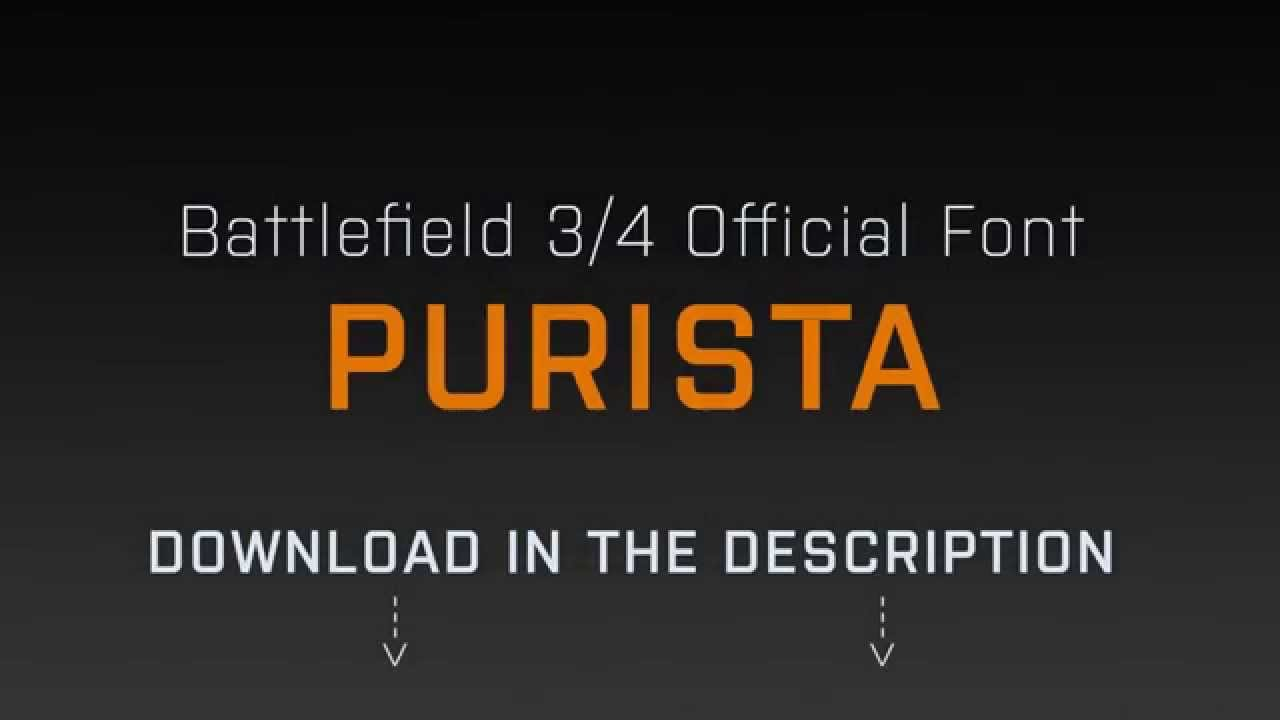purista medium font