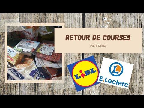 retour-de-courses-#12-lidl-&-leclerc-🧀🍅