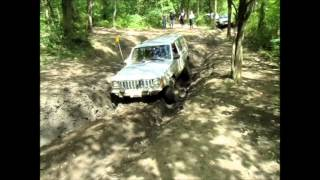 Little Jeep vs Big Ruts - The Cliffs Insane Terrain 08/18/12