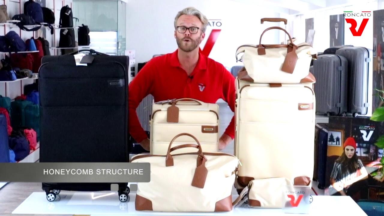 a7da71ddf03a9 Walizka duża poszerzana, 4 kółka, 132 litry, zamek TSA z pokrowcem na  ubranie marki Roncato z kolekcji Uno Soft DeLuxe - kolor antracyt 404671_22  ...
