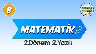 8.Sınıf Matematik   2.Dönem 2.Yazılı Provası