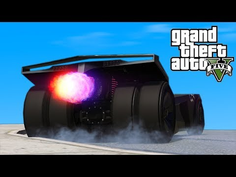 GTA 5 - Batmobile Experiences (Vigilante)