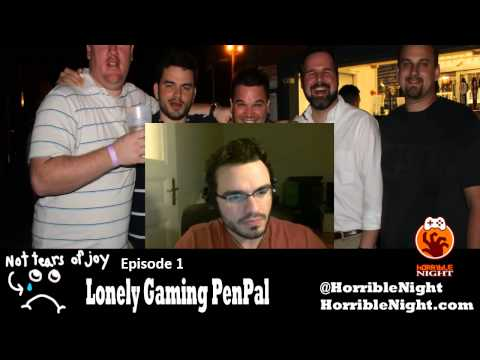 SGBF Presents Lonely Gaming Pen Pal #1