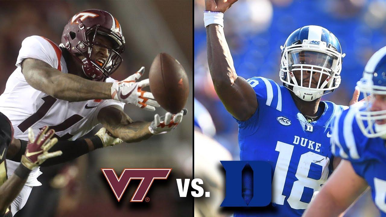 Virginia Tech vs. Duke Preview - YouTube baf7c6551