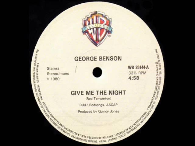 george benson give me the night dj meme deep in the night video