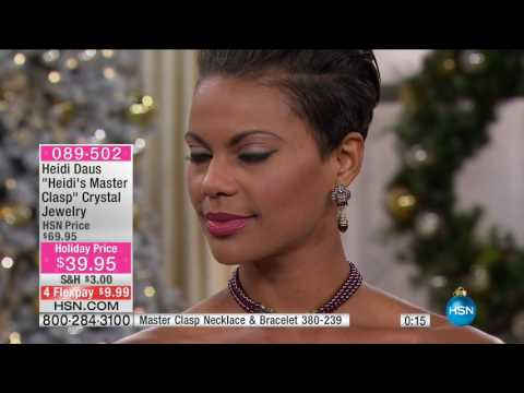 HSN | Heidi Daus Fashion Jewelry Gifts 11.03.2016 - 06 PM