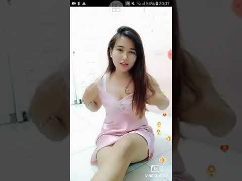 Bigo live tante goyang asik