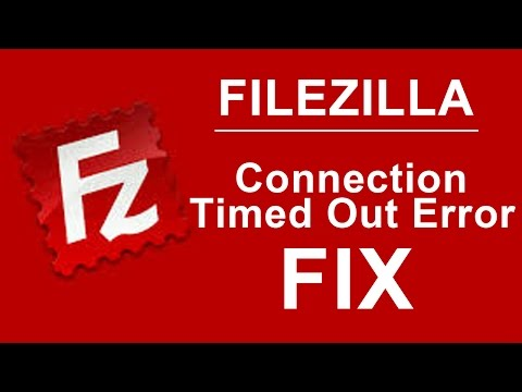 How to fix Connection timed out after 20 seconds of inactivity in file zilla