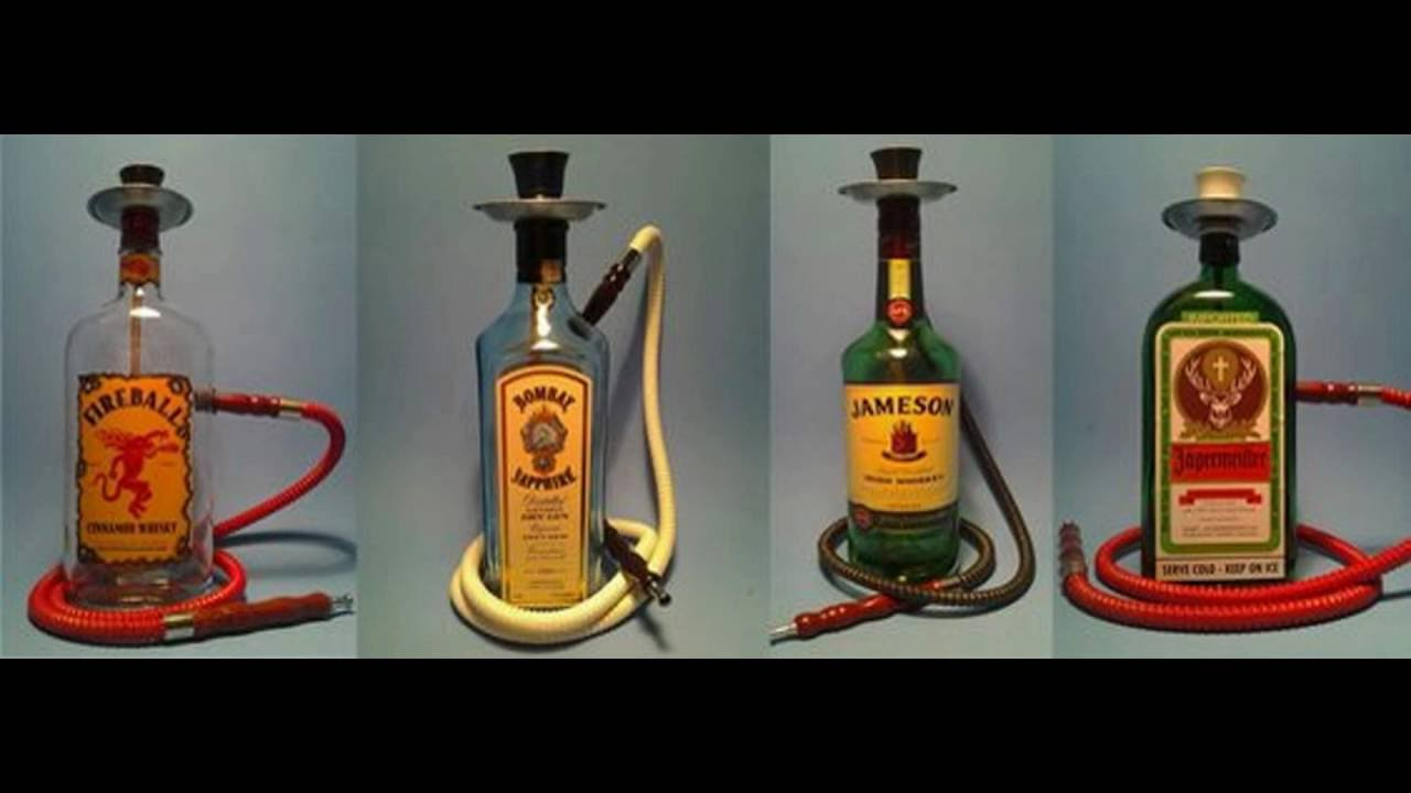 Liquor Bottle Hookahs By Bottle Heaven Pt 1 Youtube