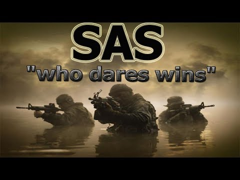 Special forces British army 2017 - SAS