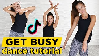 The Get Busy dance by Sean Paul | TikTok Tutorial