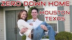 Zero Down Payment Homes Houston, TX