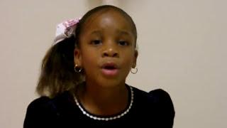 Kayla 6 years old singing Beyonce Irreplaceable