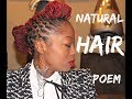 Natural Hair Poem is Healthy