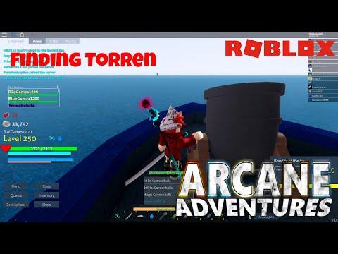 Roblox- Arcane Adventures   Finding Torren