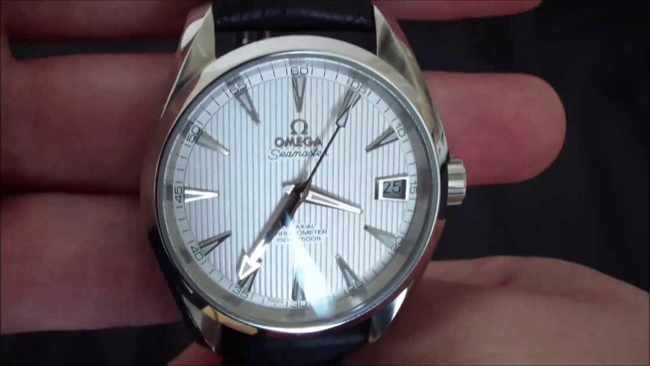 Omega Seamaster Aqua Terra 38 5mm Youtube