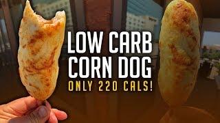 Low Carb Corn Dog Recipe! | Only 10g Carbs & 220 Calories!