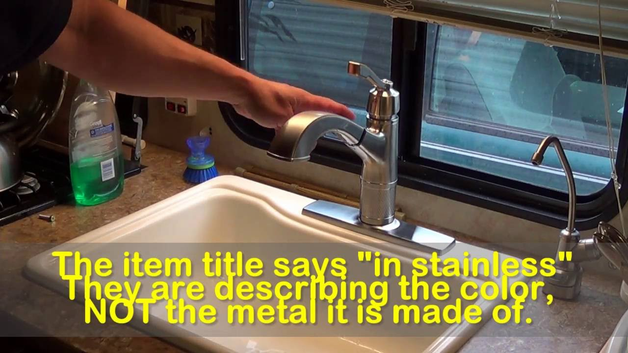 Delta Allentown Faucet Model # 16935-SSSD-DST Review - YouTube