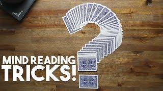 3 Easy Mind Reading Tricks Revealed!