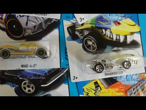 11 HOTWHEELS COLOR SHIFTERS FROM 2014