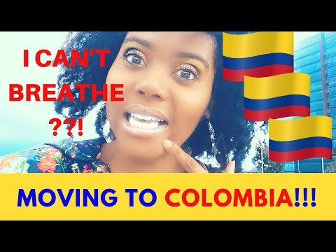 BLACK and MOVING TO COLOMBIA | First Week in Bogotá | Chanelle Adams