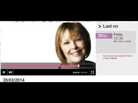▶ Vidya Karthikeyan, Sr. Researcher British Telecom BBC Radio Suffolk Interview by Lesley Dolphin