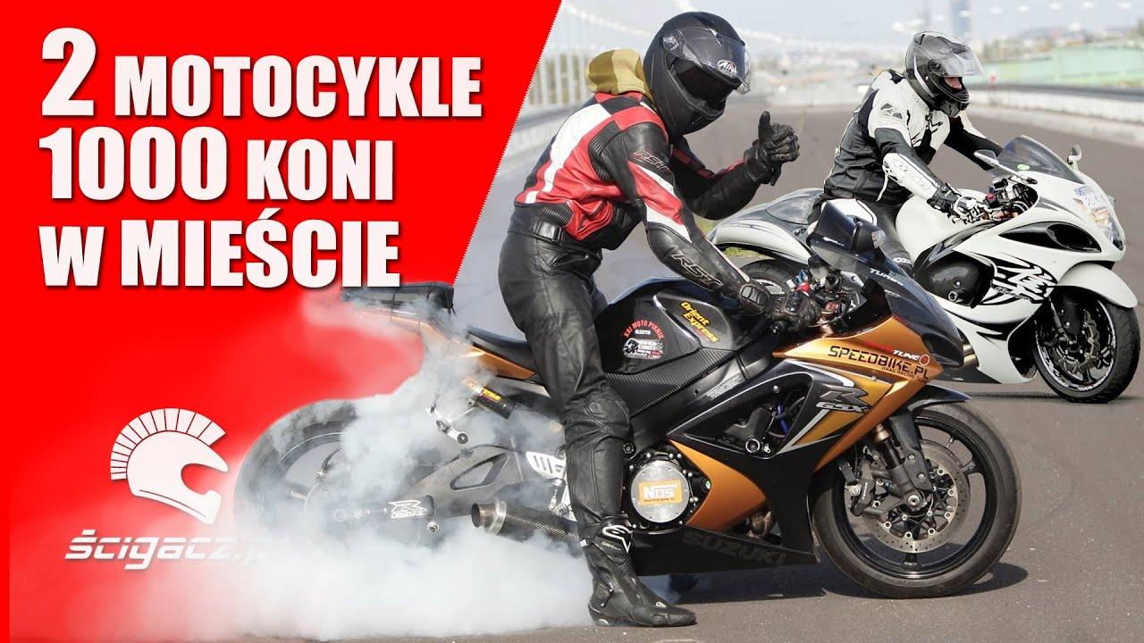 W Ultra 2 motocykle 😈 1000 koni 😈 w mieście 😈 Suzuki GSX-R i Hayabusa FF93