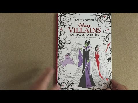 Art of Coloring: Disney Villains: 100 Images to Inspire Creativity and Relaxation flip through