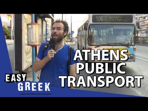 How To Use Public Transport In Athens | Easy Greek 40