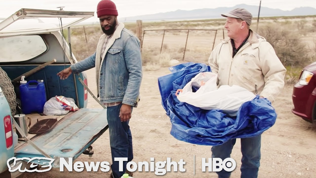We Camped Out On The Border To See What The So-Called Crisis Looks Like (HBO)