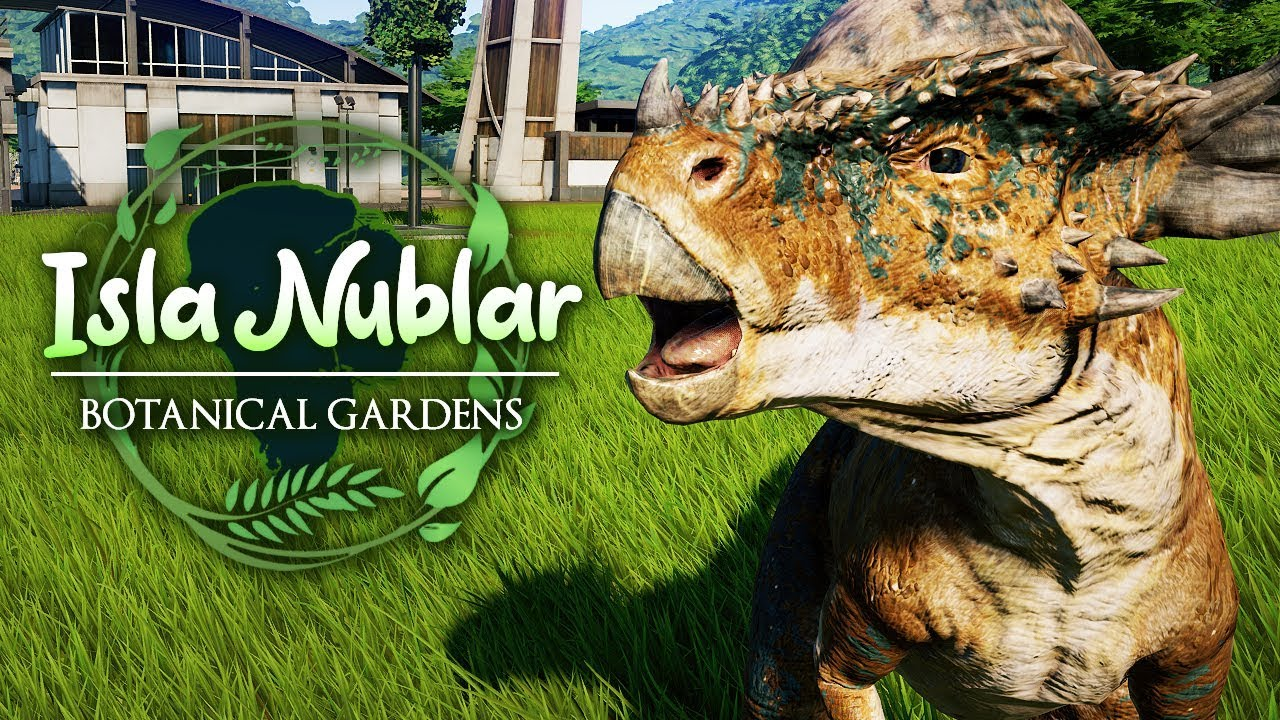 COLOURFUL NEW ARRIVALS | Isla Nublar Botanical Gardens (Jurassic World: Evolution)
