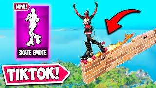 *NEW* FAMOUS TIKTOK EMOTE IS HERE!! - Fortnite Funny Fails and WTF Moments! #1011