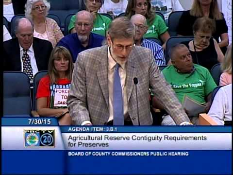 Russell Martens, Ag Reserve Roundtable Representative, Speaks on Saving This Critical Farmland
