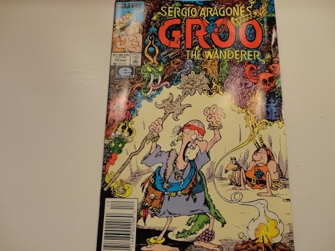 1990 Sergio Aragones Groo The Wanderer Comic Book-Auction Find #400