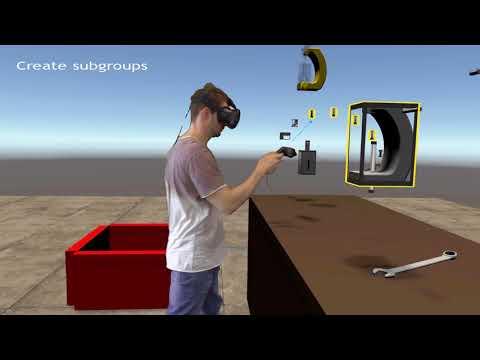 Hochschule Osnabrück: Montage Prozesse in Virtual Reality