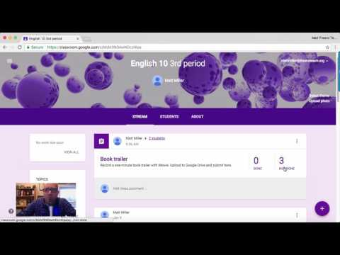 Google Classroom differentiation and grouping tutorial