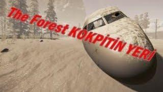 The Forest KOKPİTİN(UÇAĞIN BAŞININ) YENİ YERİ !!