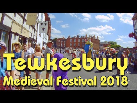 Tewkesbury Medieval Festival Parade 2018