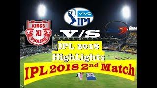Vivo IPL2018 I Match  2nd.Highlights Six & fours I KL Rahul