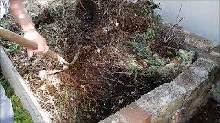 Komposthaufen richtig schichten - Permakultur Dauerhumus
