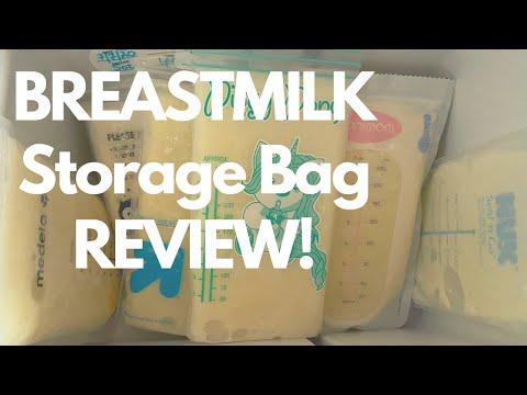 Breastmilk Storage Bags REVIEW! #breastmilkstoragebags #breastfeeding #medela #lansinoh #unimom