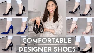 BEST Designer Shoes That Are COMFORTABLE!!! | Manolo, Chanel, Louboutin, Gucci, Aquazzura, Ferragamo