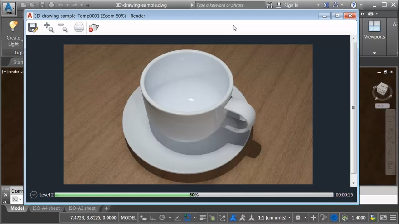 Converting 2D AutoCAD Geometry into a 3D Solid Model