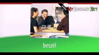 Видео уроки венгерского языка в картинках. Тема - Топ-20 венгерских Глаголов. Часть 4