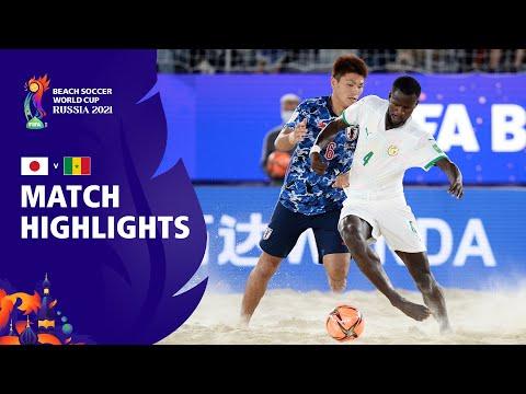 Japan v Senegal   FIFA Beach Soccer World Cup 2021   Match Highlights