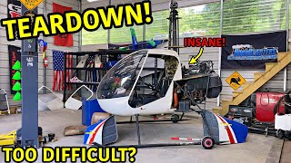 Rebuilding A Robinson R22 Helicopter Part 2