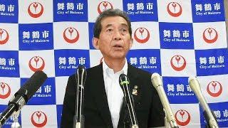 土俵で倒れた舞鶴市長が公務復帰「救命措置に男も女もない」