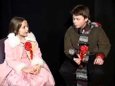 NORAD Tracks Santa  Dec 2004  Spencer and Abagail Breslin Celebrity Message
