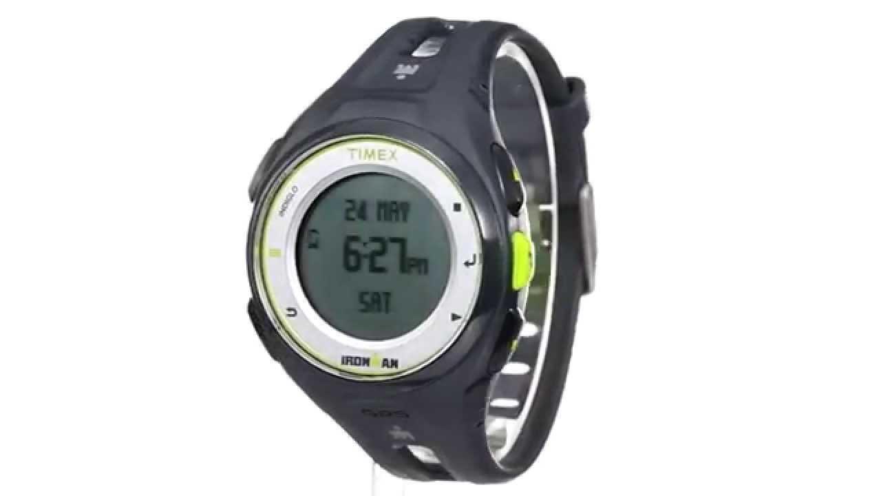 Timex Ironman Run X20 GPS Watch SKU:8502326 - YouTube
