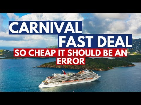 Carnival Vista Cruise Deal, Fast Cruise Deal For Last Minute Cruise